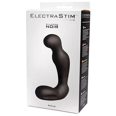 Noir Silicone Sirius Prostate Massager - Casual Toys