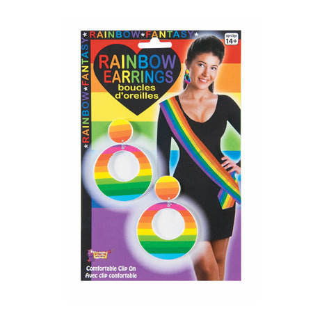 Rainbow Earrings - Casual Toys
