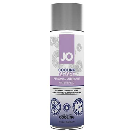 JO Agapé - Cooling - Lubricant (Water-Based) 2 fl oz - 60 ml - Casual Toys
