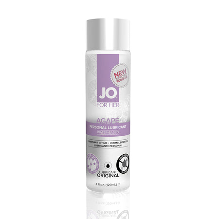 JO Agapé - Original - Lubricant (Water-Based) 4 fl oz - 120 ml - Casual Toys