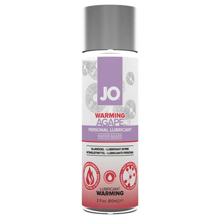 JO Agapé - Warming - Lubricant (Water-Based) 2 fl oz - 60 ml - Casual Toys