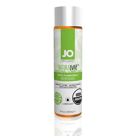 JO USDA Organic - Original - Lubricant (Water-Based) 4 fl oz - 120 ml - Casual Toys