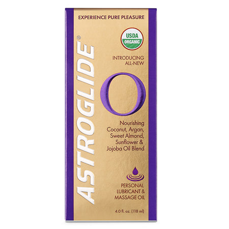 Astroglide O Lubricant-Massage Oil 4oz - Casual Toys