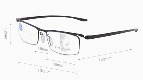 Smart Reading Dual-Use Reading Glasses