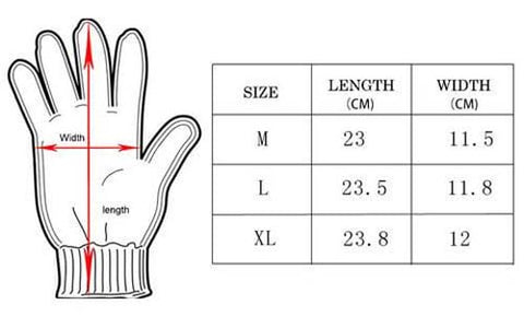 Tactical Military Army Full Finger Gloves
