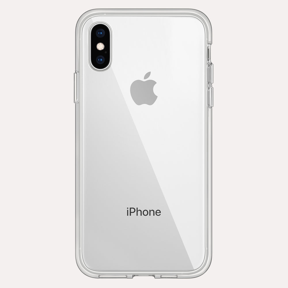 iPhone XS Rugged Protective Clear Case