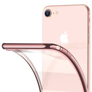 iPhone 7/8 Clear Crystal Thin Slim Soft TPU Case