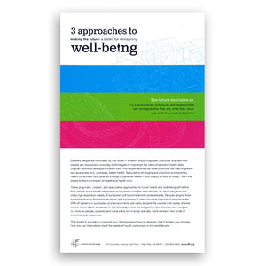 3 Approaches to Well-being (Toolkit)