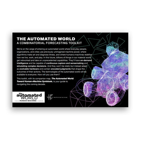 The Automated World: Toward Human + Machine Symbiosis (Map + Toolkit)