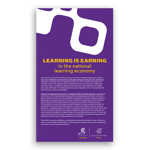 Learning is Earning in the National Learning Economy (Map)