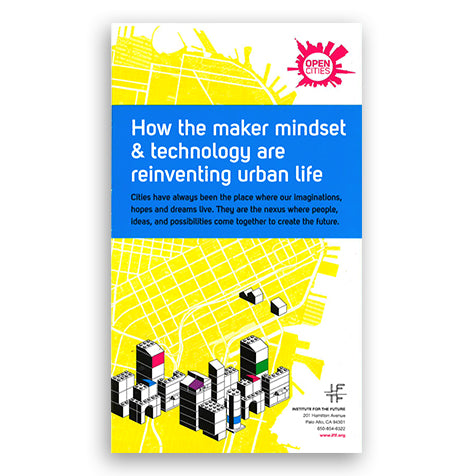 Open Cities: How the maker mindset & technology are reinventing urban life