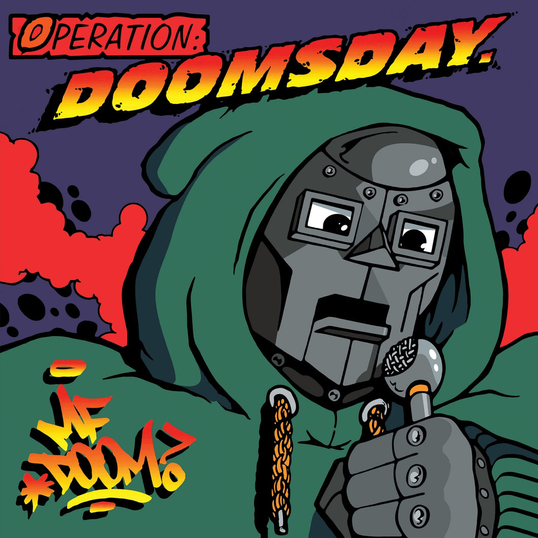 MF DOOM:  OPERATION: DOOMSDAY (ORIGINAL COVER) 2LP VINYL RECORD (04.06.21)