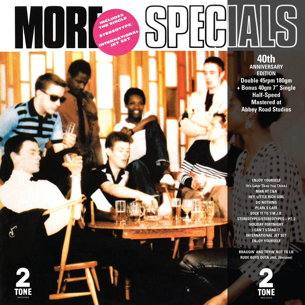 THE SPECIALS - MORE SPECIALS HALF SPEED MASTER VINYL RECORD