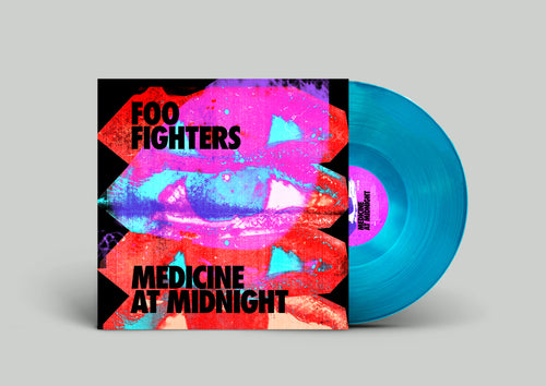 FOO FIGHTERS: MEDICINE AT MIDNIGHT 1LP EXCLUSIVE BLUE VINYL (05.02.21)