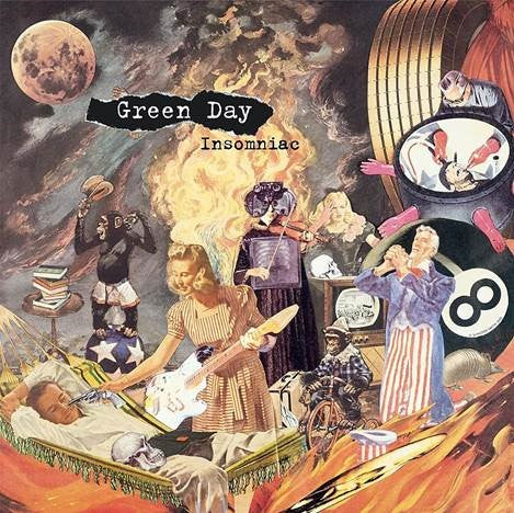 GREEN DAY: INSOMNIAC (25TH ANNI REMASTERED) 2LP BLACK VINYL RECORD (19/03/21)