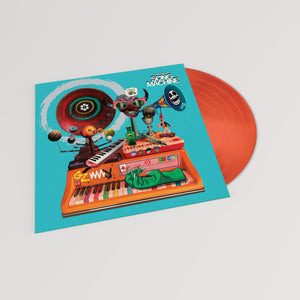 GORILLAZ - SONG MACHINE NEON ORANGE COLOUR VINYL RECORD (23.10.20)