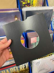 "7"" SINGLES CARD OUTERS - BLACK"