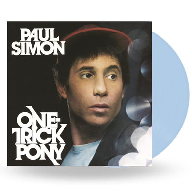 PAUL SIMON : ONE TRICK PONY - COLOURED VINYL (LIGHT BLUE) - NATIONAL ALBUM DAY