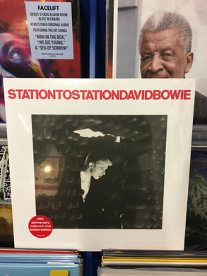 DAVID BOWIE: STATION TO STATION 1LP RED OR WHITE VINYL RECORD (22/01/21)