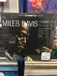 MILES DAVIES: KIND OF BLUE - CLEAR VINYL RECORD (29.01.21)