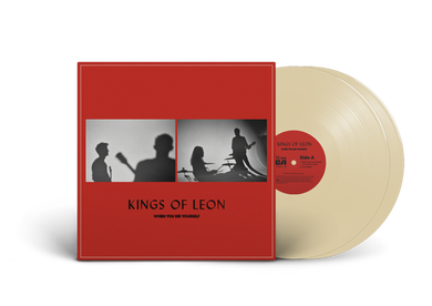 KINGS OF LEON: WHEN YOU SEE YOURSELF 2LP CREAM VINYL RECORD (05/03/21)