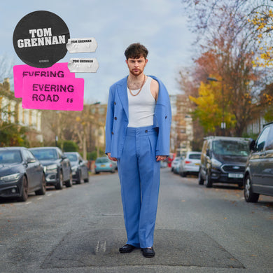 TOM GRENNAN: EVERING ROAD 1LP VINYL RECORD TRANSPARENT BLUE (05.03.21)
