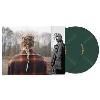 TAYLOR SWIFT: EVERMORE 2LP DELUXE GREEN VINYL RECORD (28.05.21)