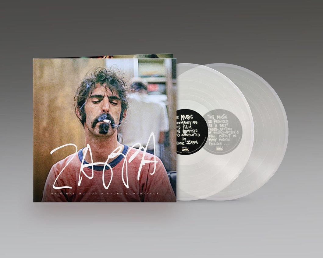 FRANK ZAPPA, VARIOUS: ZAPPA OST - 2LP CLEAR VINYL RECORD (07.05.21)