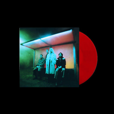 WOLF ALICE: BLUE WEEKEND 1LP LIMITED TRANSPARENT RED VINYL (11.06.21)