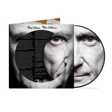 PHIL COLLINS: FACE VALUE 40TH ANNIVERSARY PICTURE DISC (12.02.21)