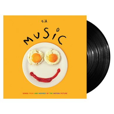 SIA: MUSIC (SONGS FROM AND INSPIRED BY THE MOTION PICTURE) 1LP VINYL RECORD (26.03.21)