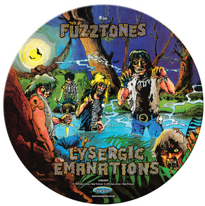 FUZZTONES - LYSERGIC EMANATIONS - LP PICTURE DISC - RSD 2020 VINYL
