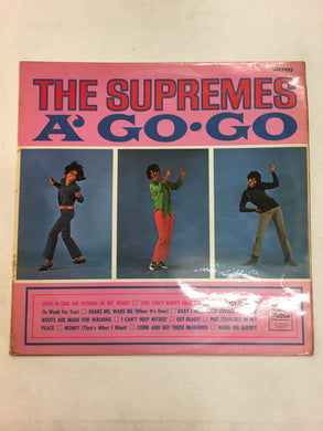 THE SUPREMES LP ; SUPREMES AGO•GO