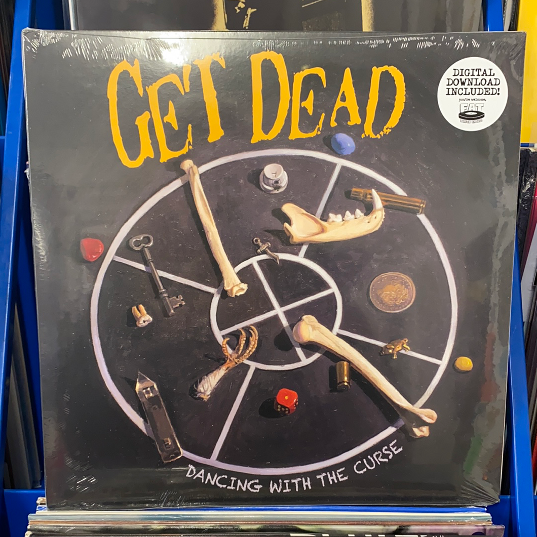 GET DEAD: DANCING WITH THE CURSE 1LP VINYL RECORD (19.02.21)