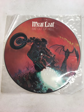 MEATLOAF LP PICTURE DISC; BAT OUT OF HELL