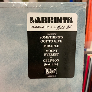 LABRINTH: IMAGINATION AND THE MISFIT KID LIMITED CLEAR VINYL RECORD (09.06.20)