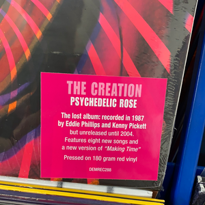 THE CREATION: PSYCHEDELIC ROSE 1LP RED VINYL RECORD