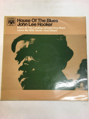 JOHN LEE HOOKER LP ; HOUSE OF BLUES