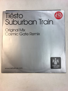 "DJ TIESTO 12"" SUBURBAN TRAIN"