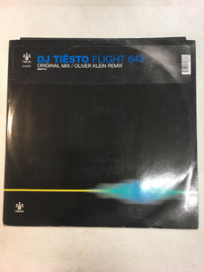 "DJ TIESTO 12"" ; FLIGHT 643"