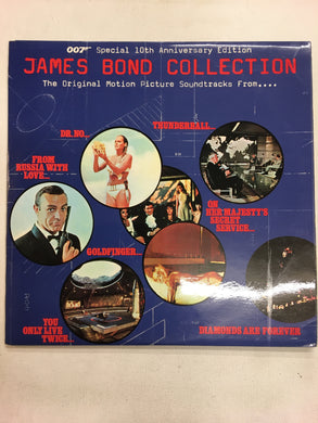 JAMES BOND COLLECTION 2 LP
