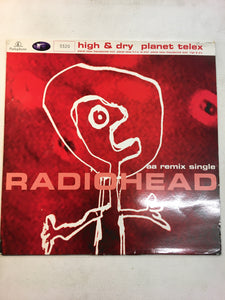 "RADIOHEAD 12"" NUMBERED ' HIGH & DRY"