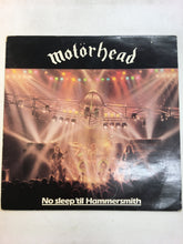 Load image into Gallery viewer, MOTORHEAD LP ; NO SLEEP 'til Hammersmith