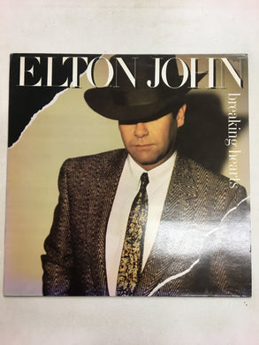 ELTON JOHN LP ; Breaking Hearts