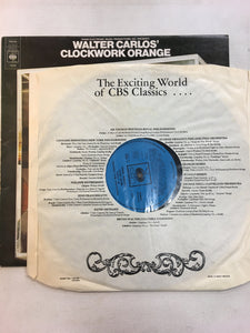 WALTER CARLOS' CLOCKWORK ORANGE LP