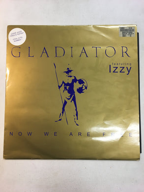 "GLADIATOR 12"" NOW WE ARE FREE ; feat Izzz"