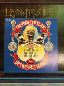 "IRON MAIDEN 2 x 12"" WASTED YEARS : from the 1st 10 yrs collection"