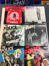 "Load image into Gallery viewer, The POLICE 6 x 7"" Single Limited Edition Set ; SIX PACK"
