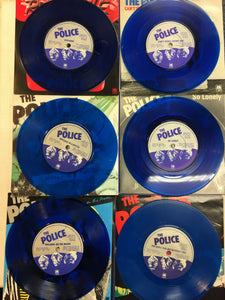 "The POLICE 6 x 7"" Single Limited Edition Set ; SIX PACK"