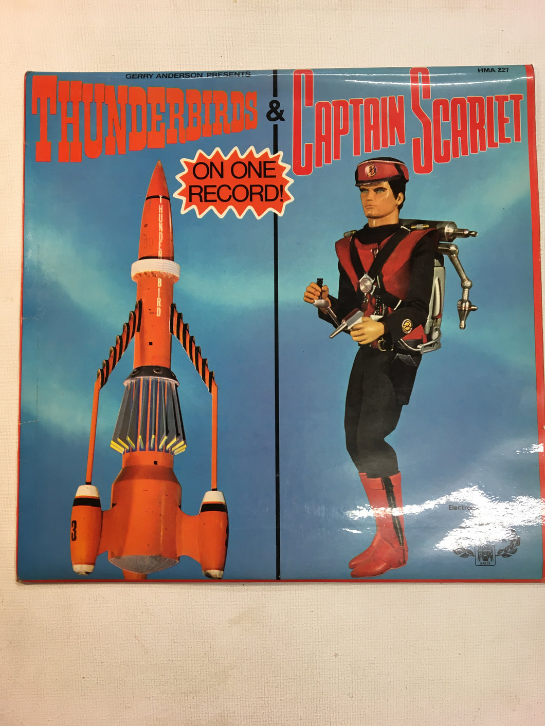 "THUNDERBIRDS / CAPTAIN SCARLET 12"" VINYL LP"